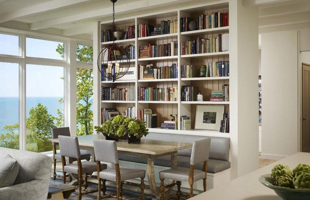 Tủ sách cho không gian tiện nghi
