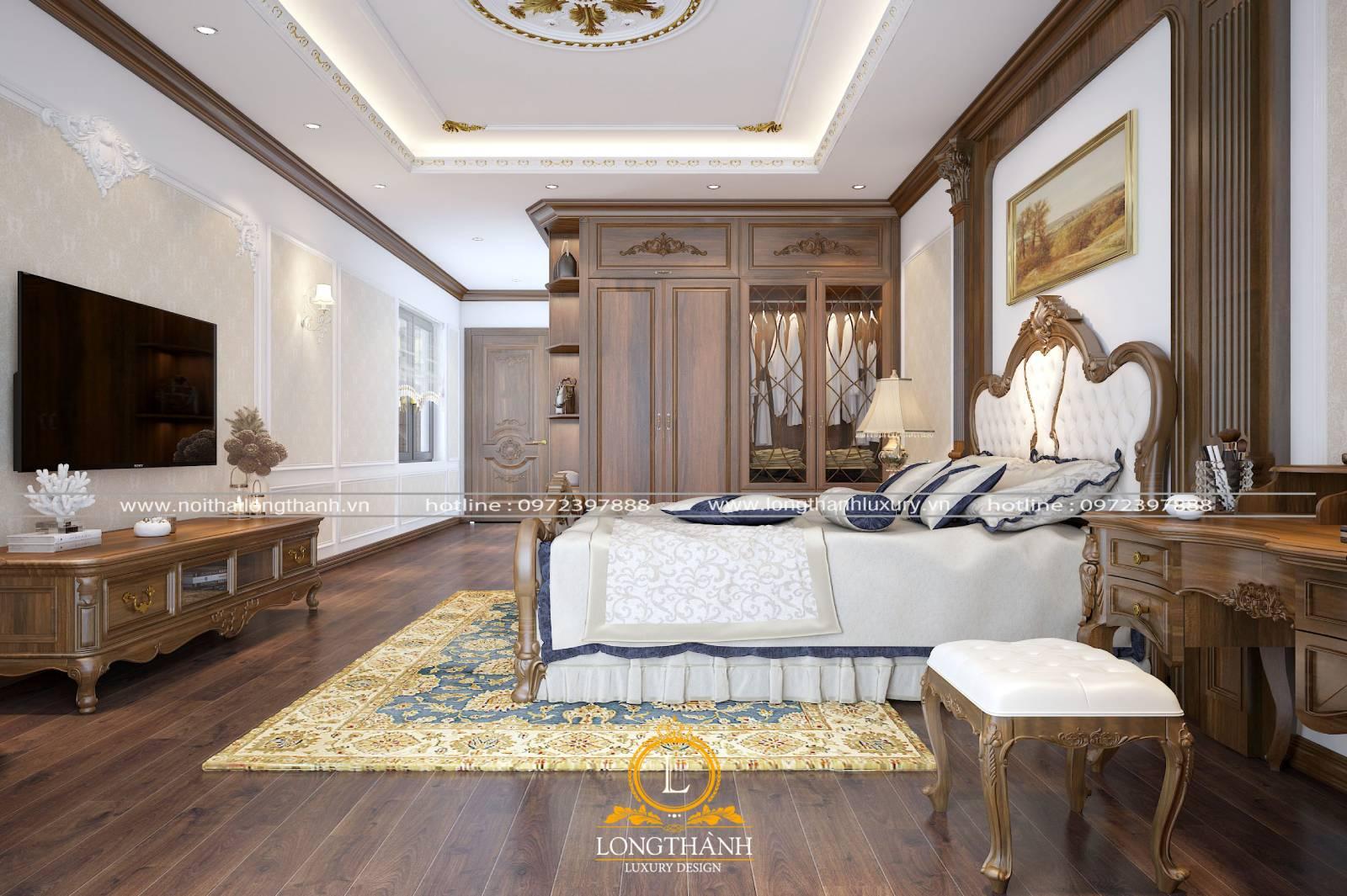 Vị trí đặt giường tủ trong phòng ngủ mang ý nghĩa phong thủy cao