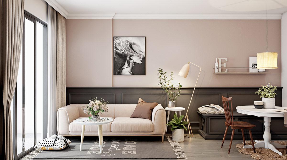 Xu hướng thiết kế nội thất retro hiện đại, tinh tế